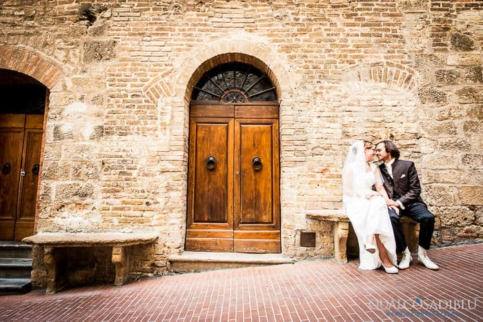 Wedding at Croce di Bibbiano San Gimignano | Rolf & Anne