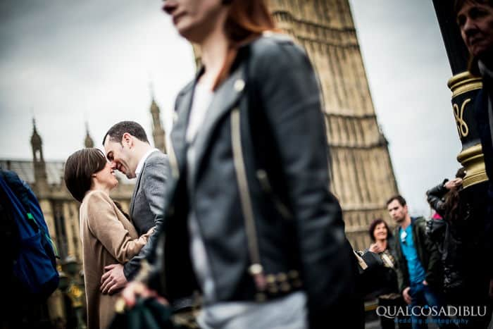 Engagement in London - Gabriella & Adrian