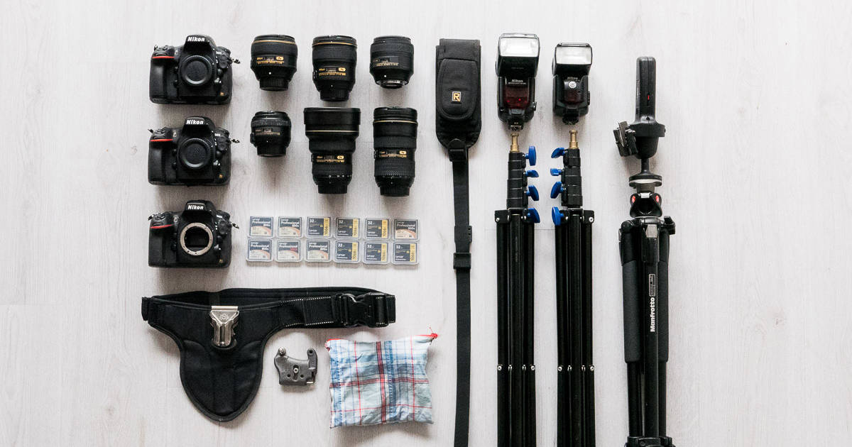 Best equipment for wedding photography qualcosa di blu for Wedding photography equipment