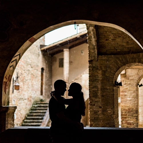 Engagement in San Gimignano | Patricia & Johan