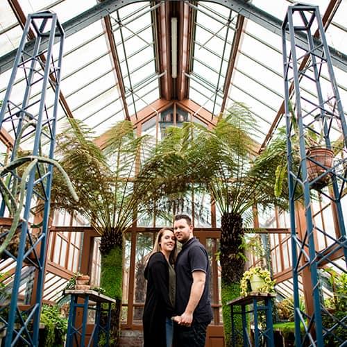 Engagement in Utrecht – Oude Hortus   Lisa & Joey