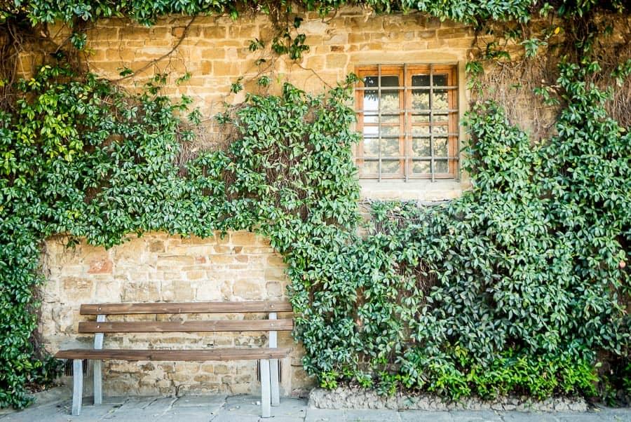 San miniato al monte church florence detail of sit