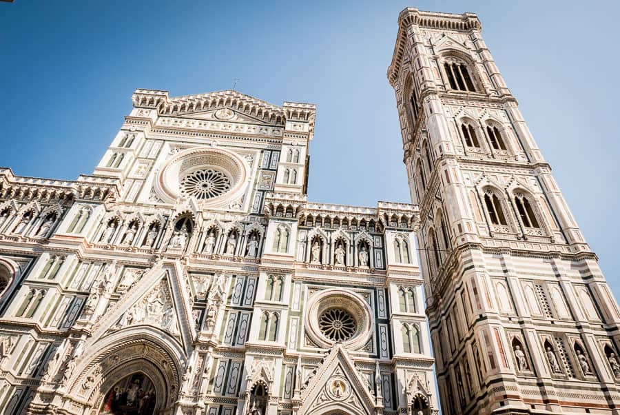 Chatedral Santa Maria del fiore Florence Giotto bell tower