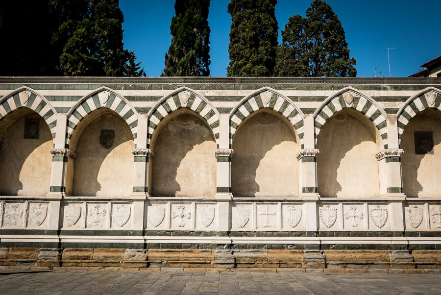 santa maria novella church Florence detail