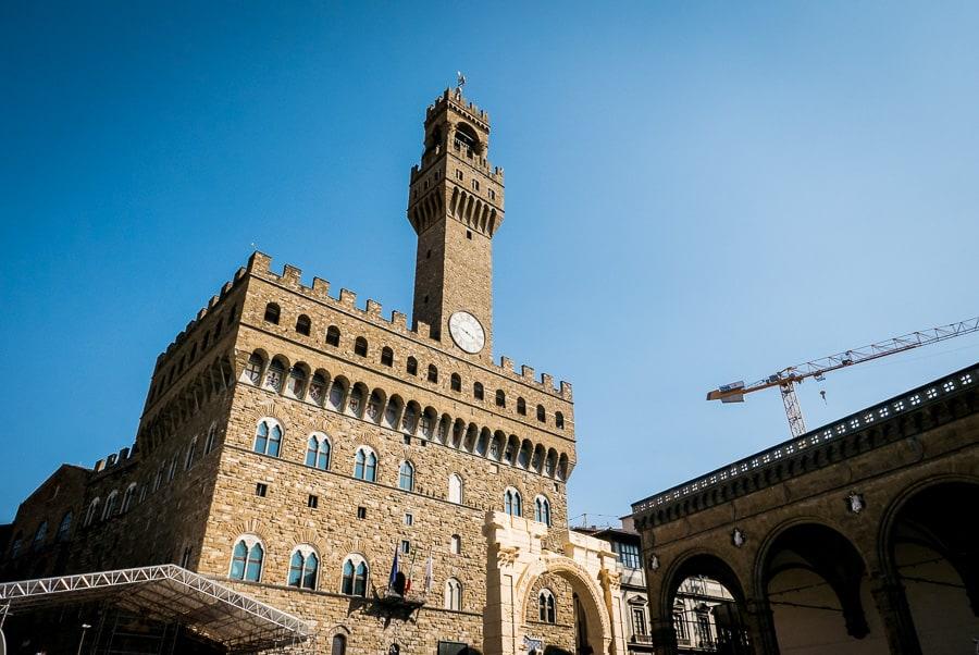 Palazzo vecchio florence piazza della signoria