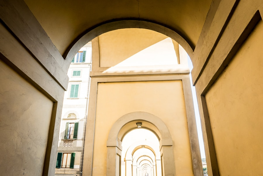 Florence Vasari Corridor Loggiato
