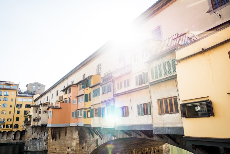 Vasari Corridor Ponte Vecchio Florence
