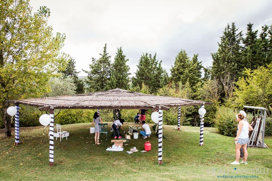 floral design ceremony spot borgo della meliana