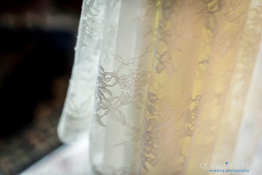 detail wedding dress lace