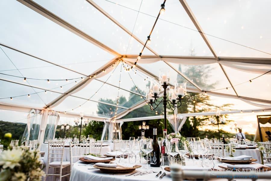 detail table dinner wedding