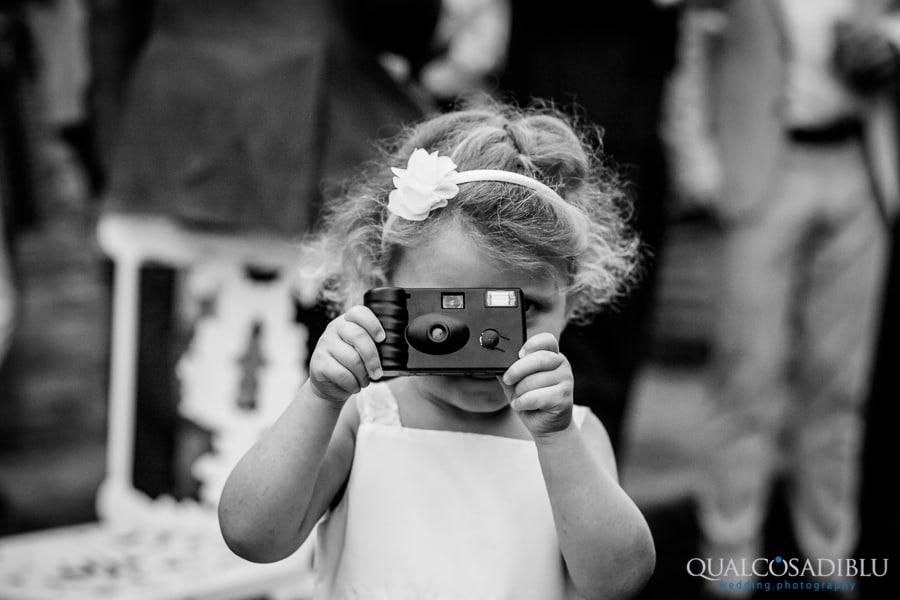 photo bomb wedding baby