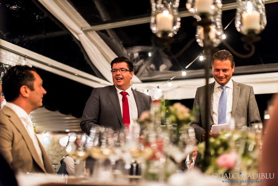 witnesses of the groom speeches wedding dinner
