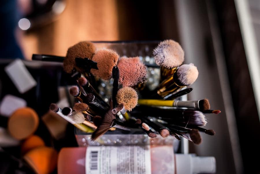 wedding make up tools