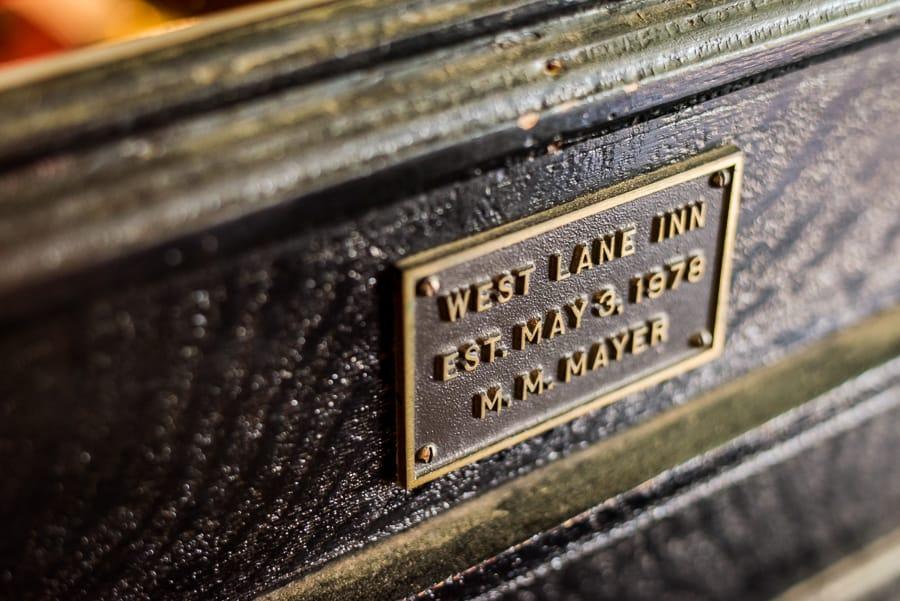 details west lane inn ridgefiled ct