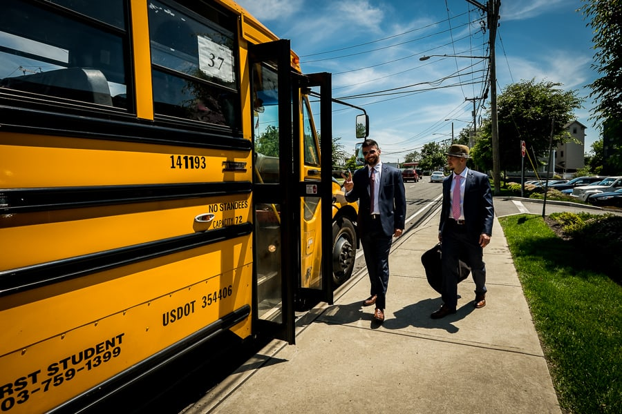 transport grom bestmen yellow school bus