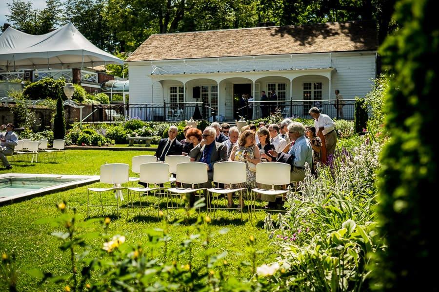 ceremony guests keeler tavern museum ct garden