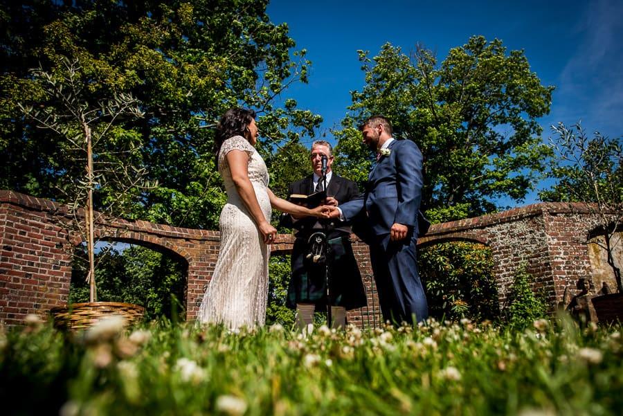 marriage keeler taver museum bride groom garden