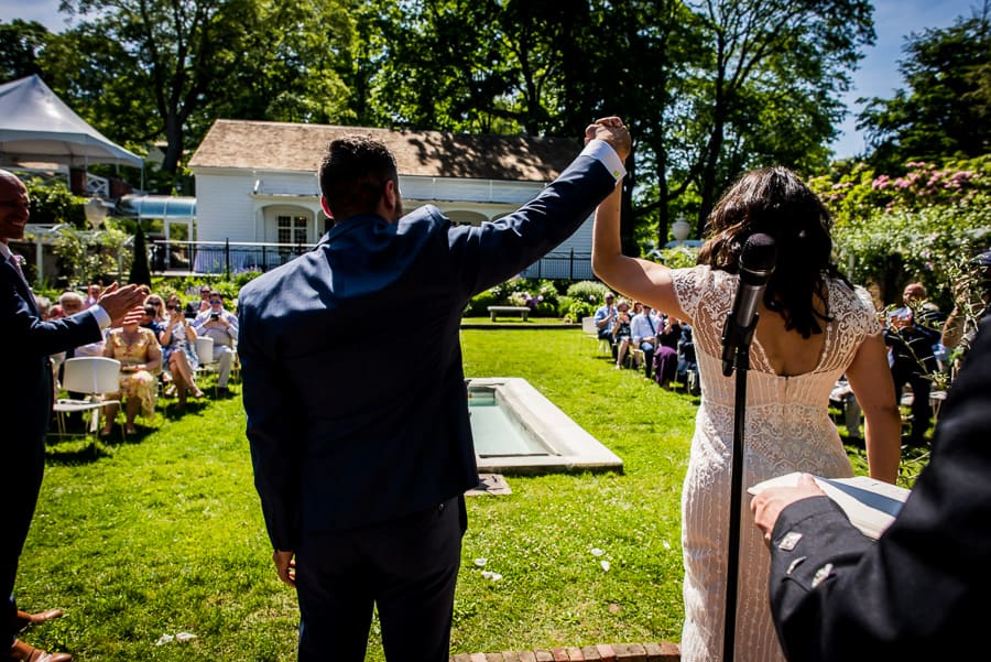 marriage ceremony keeler tavern museum couple just married