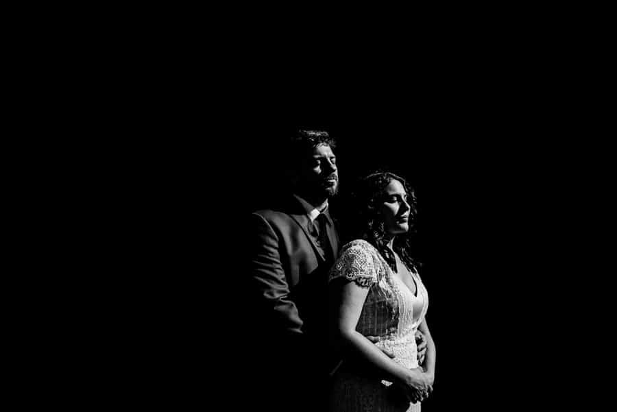 bride groom portrait black and white