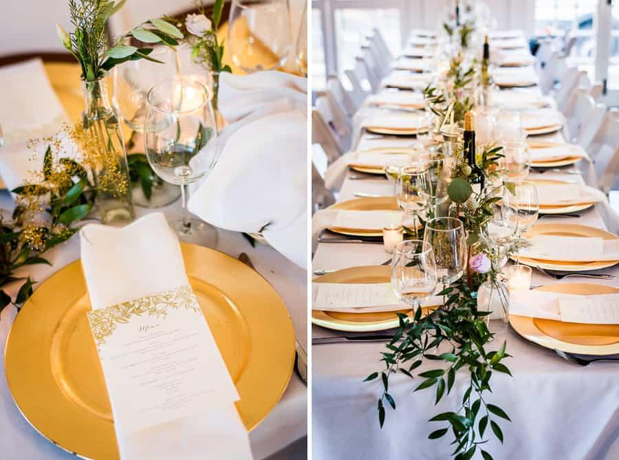 dressed tables golden dishes keeler tavern museum