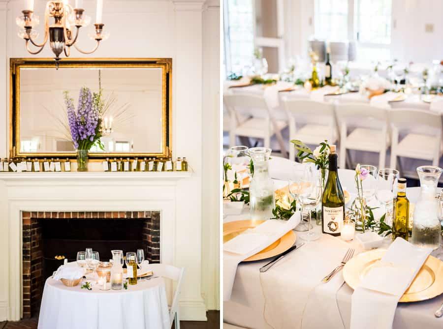 wedding dressed tables decorations keeler tavern museum ridgefiled ct