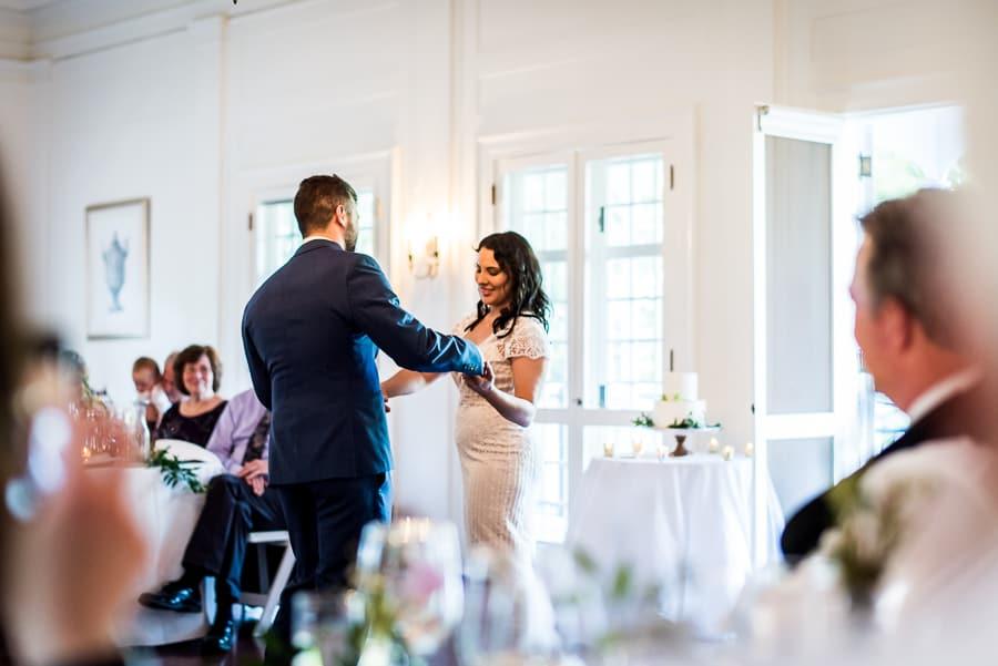 wedding first dance bride groom keeler tavern museum ct