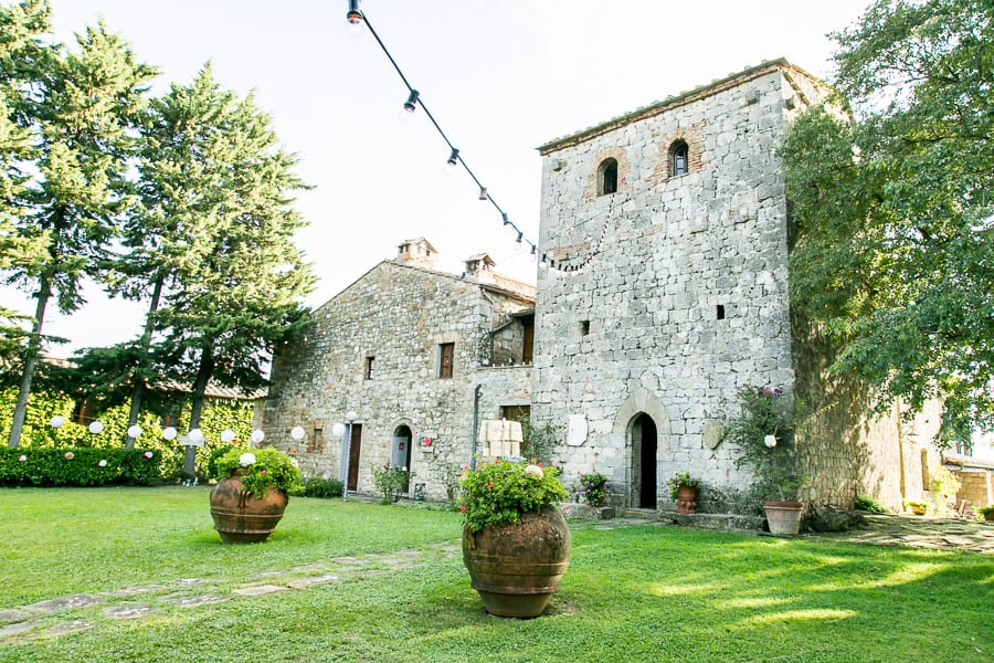 fattoria larniano tower wedding