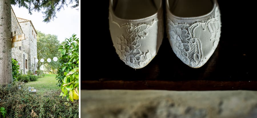 fattoria larniano garden bride shoes