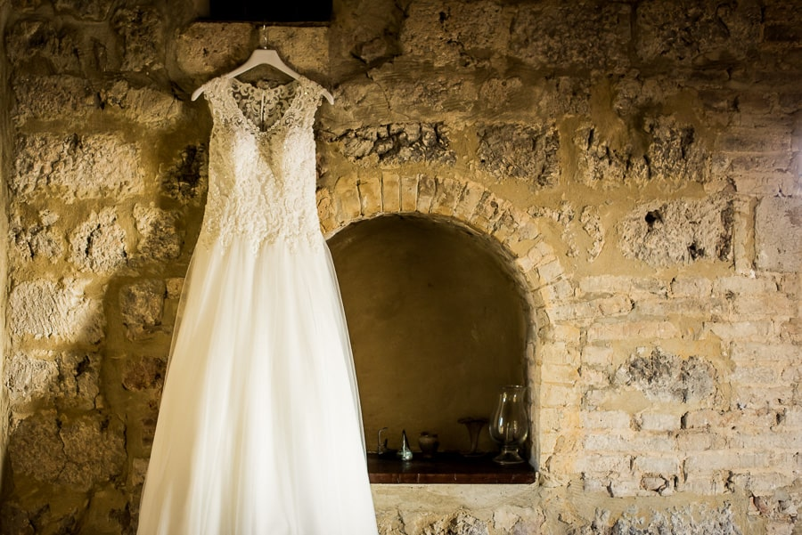 fattoria di larniano bride dress