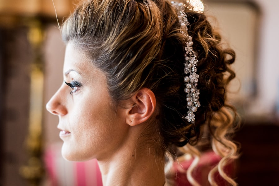 bride hairstyle make up