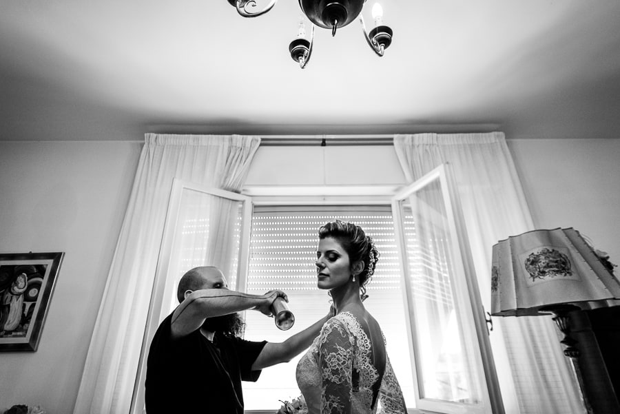 last touch hairdress bride getting ready