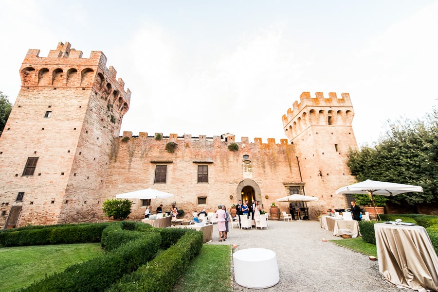 oliveto castle guests wedding