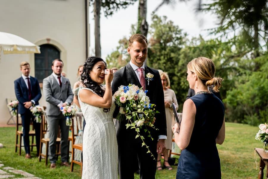 wedding ceremony fattorie santo pietro