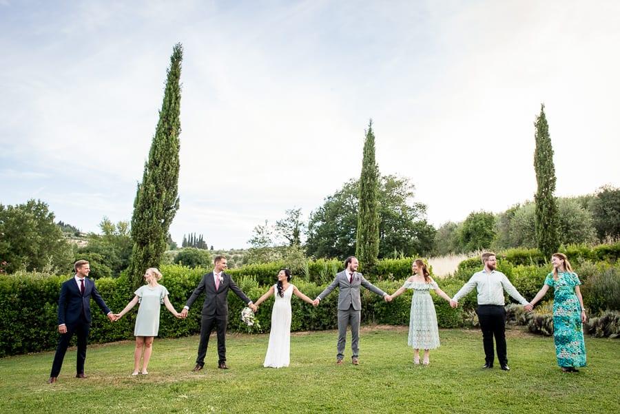 bridal party fattorie santo pietro