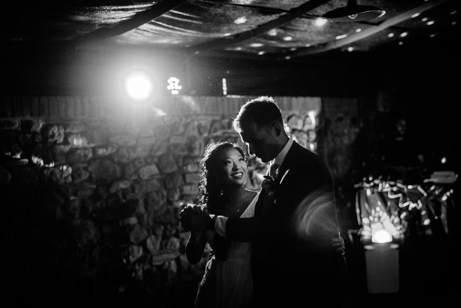 bride and groom dancing fattorie santo pietro