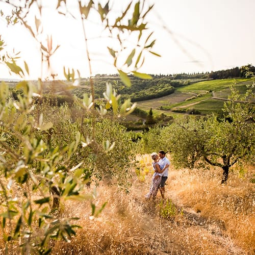 Engagement at Poderi Arcangelo – San Gimignano | Patricia & Fred