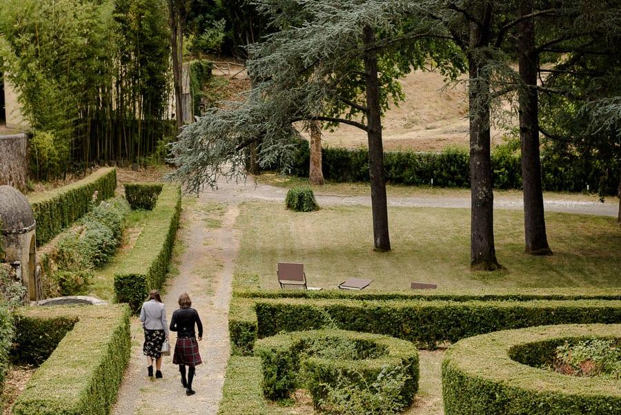 Gardens at Villa il Salicone Pistoia