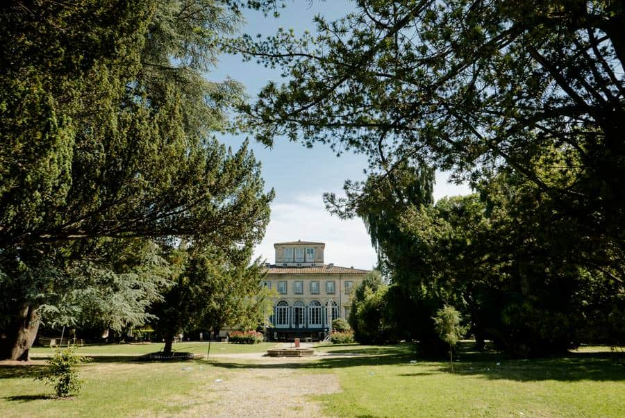 Park of VIlla Bottini in Lucca