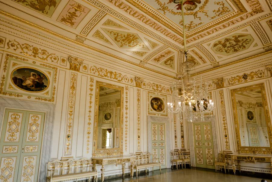 Golden Hall of Palazzo Mansi in Lucca