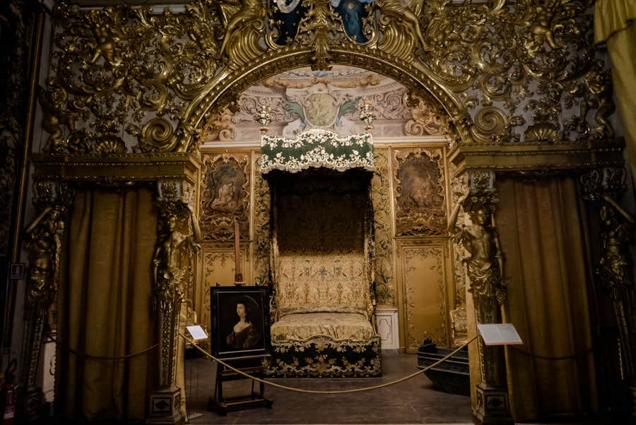 Room at Palazzo Mansi in Lucca