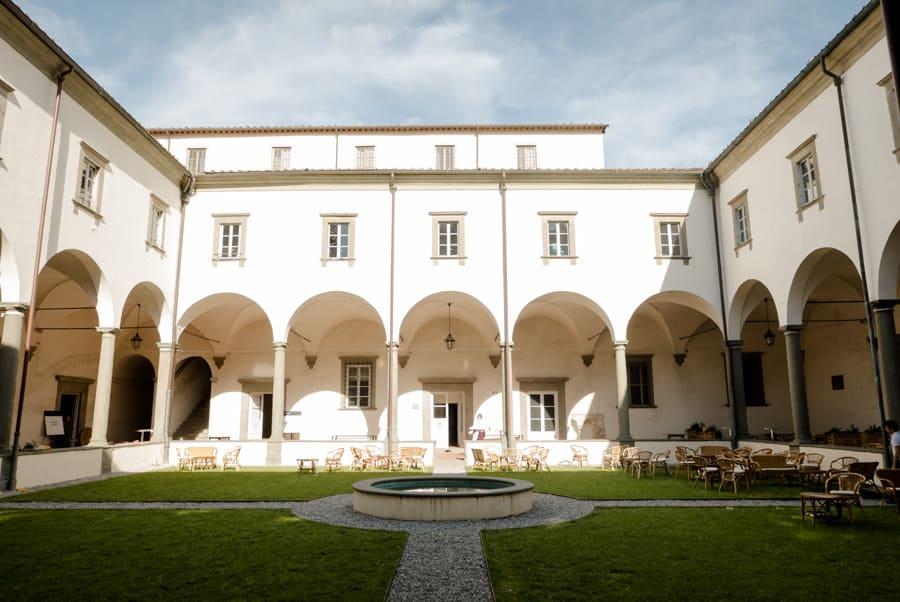 Loggiato in Real Collegio in Lucca