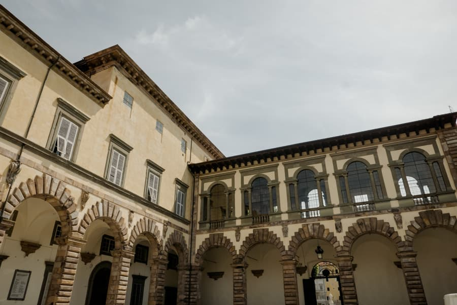 Palazzo Ducale in Lucca Loggia degli Abati