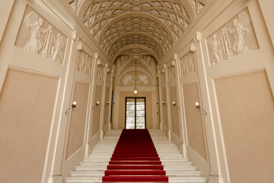 Palazzo ducale Lucca Scala regia