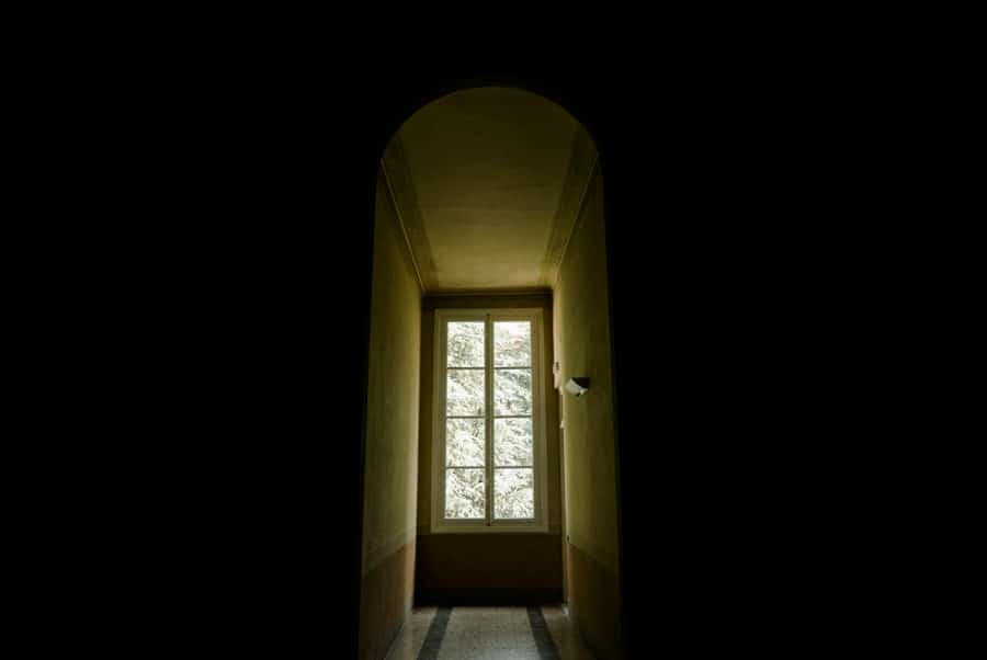 A window in Palazzo Ducale Lucca