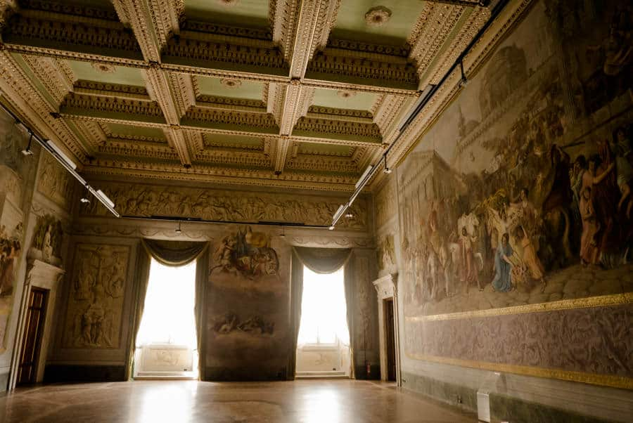 Amazing hall in Palazzo Ducale Lucca
