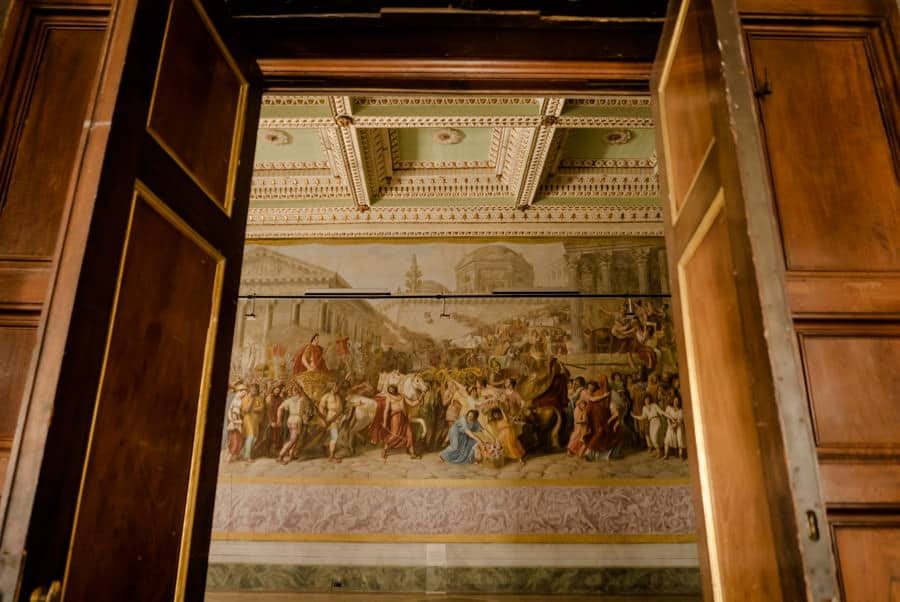 Frescos at Palazzo Ducale Lucca