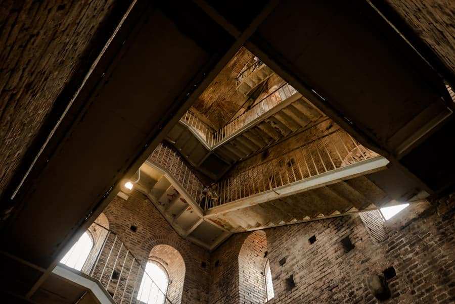 Inside Torre Guinigi Lucca