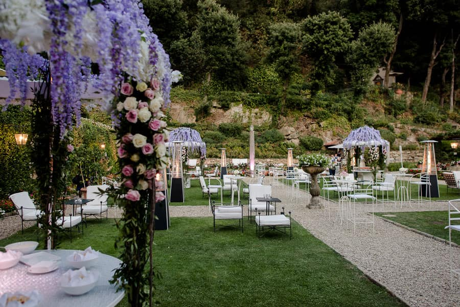 villa san michele wedding