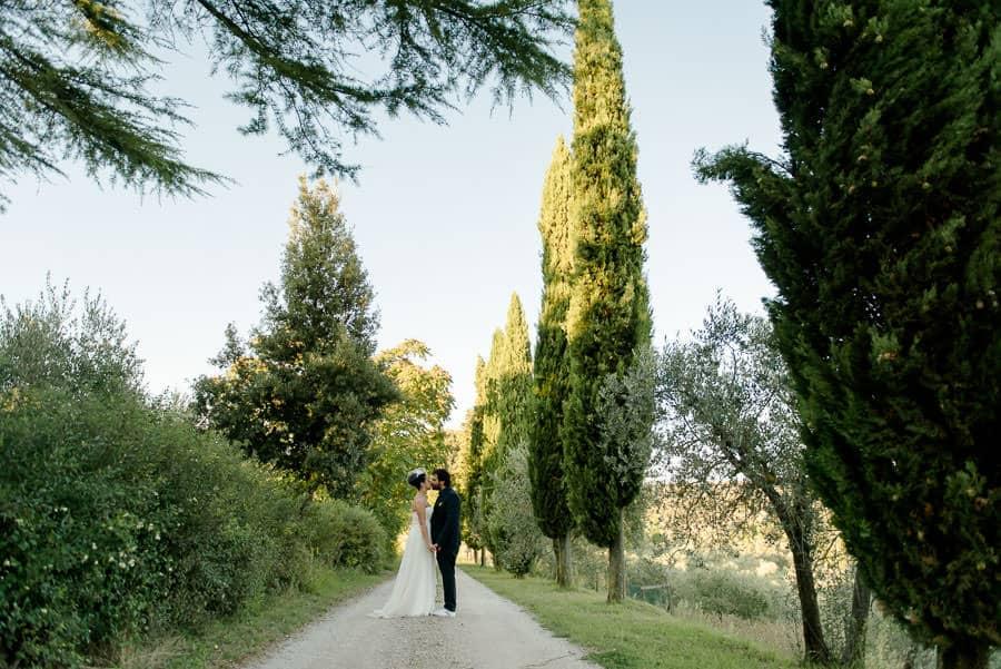 borgo casabianca cypresses road