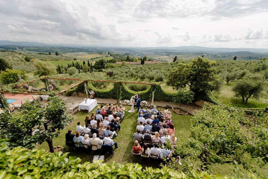 fattoria di cinciano wedding ceremony spot